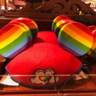Disney Parks Pride Rainbow Gay Days Heart Mickey Mouse Ears Cap Adult Hat New