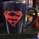 Six Flags Magic Mountain Dc Comics Two Tone  Superman Ceramic Mug New