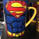 Six Flags Magic Mountain Dc Comics Superman Super Jumbo Ceramic Mug New