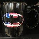 Six Flags Magic Mountain Batman American Made Ceramic Mug New