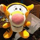 "Disney Parks Exclusive Winnie The Pooh's Tigger Big Head 4"" Magnet Plush New"