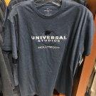 Universal Studios Hollywood Exclusive Dark Blue Mens Shirt Large New