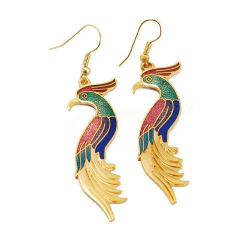 Free shipping--Cloisonne Earrings