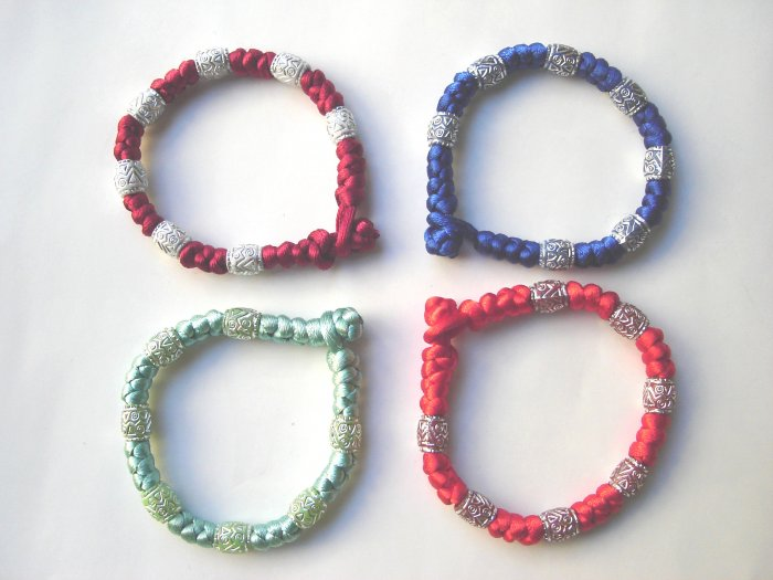 Free shipping--Chinese Knot Bracelet 4pcs/lot