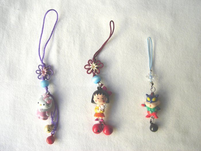 KCL-8008    Plastic Doll & Metal Bell Chinese Knot set