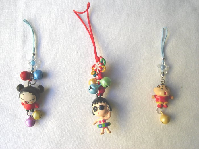 KCL-8010    Plastic Doll & Metal Bell Chinese Knot set