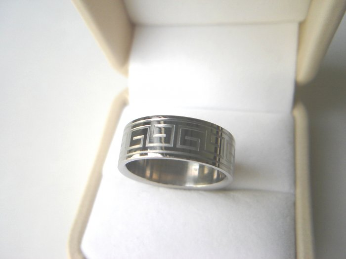 Free shipping--Stainless Steel Wedding Band Ring