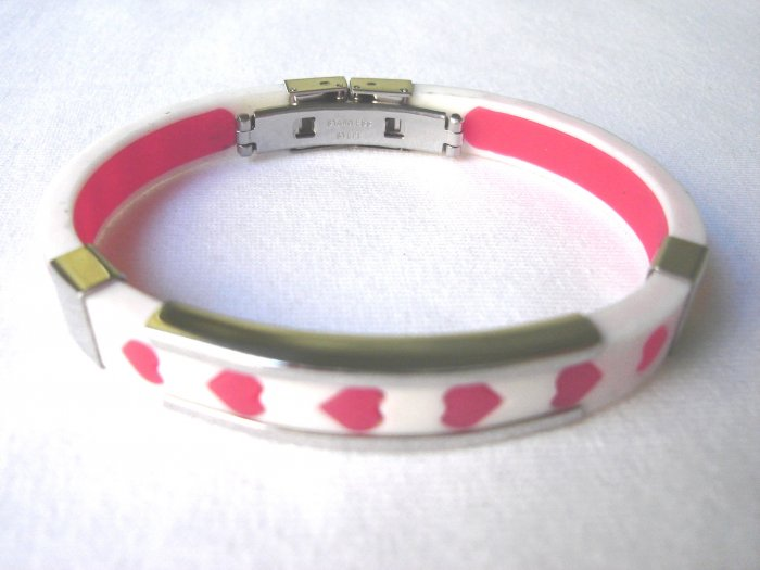 BHY-2027    Stainless Steel And Rubber Bracelet