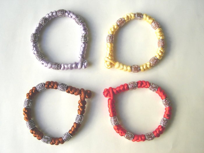 Free shipping-- Chinese Knot Bracelet 4pcs/lot