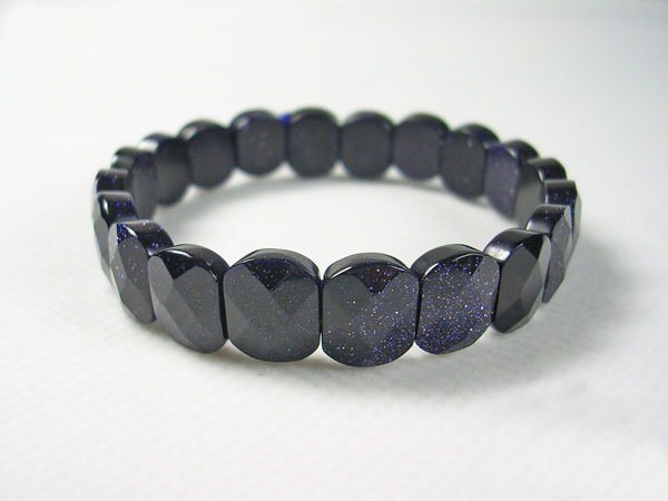 Free shipping---Blue Sandstone Bracelet