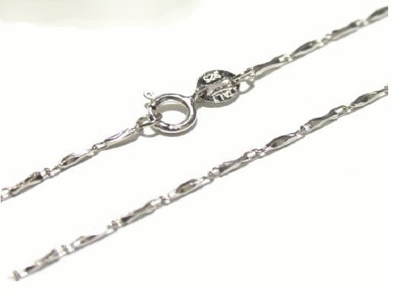 Free shipping---Sterling Silver Chain 18""