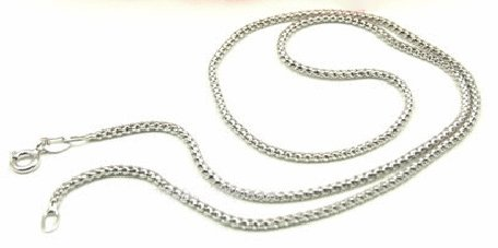 Free shipping---Sterling Silver Chain 16""