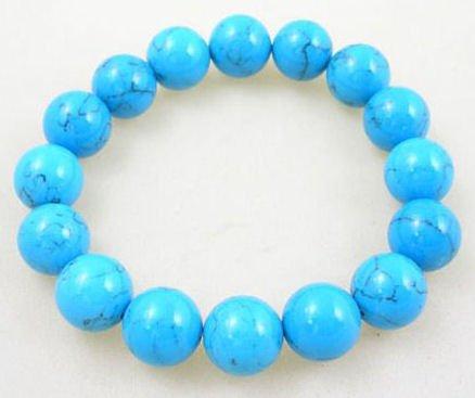 Free shipping---Turquoise  Beads Bracelet