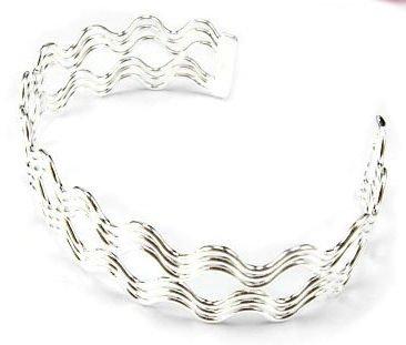 CBK-2009     Sterling Silver Flex Cuff Bracelet