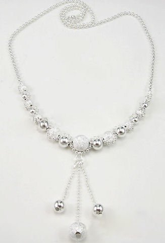 NBK-6002     Sterling Silver Necklace