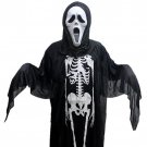 Free shipping--Brand New Skull Ghost Halloween Costumes
