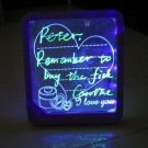 Free shipping---2 pcs/lot magic glow board Led message board