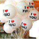 12 inch balloon birthday party Wedding-- Free shipping  100 pcs/lot