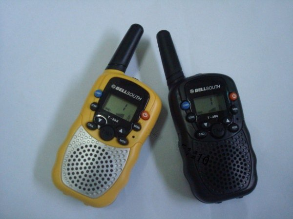 Free Shipping---WALKIE TALKIET388  1 pair