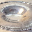 "1949 ENGRAVED PRESIDENTS FLIGHT"" CAMILE CO SILVER PLATE FOOTED OVAL BOWL RARE"