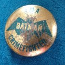 "1966 ""I'M A BATMAN CRIME FIGHTER"" NPP PIN BACK BUTTON BATMAN & ROBIN PIN"