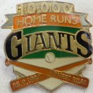 1988 ERNEST RILES 10,000 HOME RUNS SAN FRANCISCO GIANTS ENAMEL LAPEL PIN BUTTO