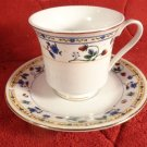 VINTAGE TRULY TASTEFUL FINE CHINA PORCELAIN MINIATURE TEACUP & SAUCER STRAWBERRY