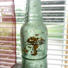 VINTAGE NU GRAPE GREEN GLASS SODA BOTTLE NEAT BUMPY OLD BOTTLE DUG BOTTLE