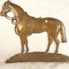 ANTIQUE BRONZE HORSE PLAQUE WALL PICTURE WALL STATUE EQUESTRIAN  STATUE beauty