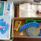 RARE CHILDS BATTERY OPERATED TOY TURNOVER CHOO CHOO MIB JAPAN LOCOMOTIVE TRAIN