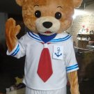 Sailor Teddy Bear Mascot Costume Adult Costume
