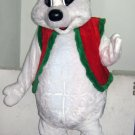 Christmas Bear Mascot Costume Adult Costume