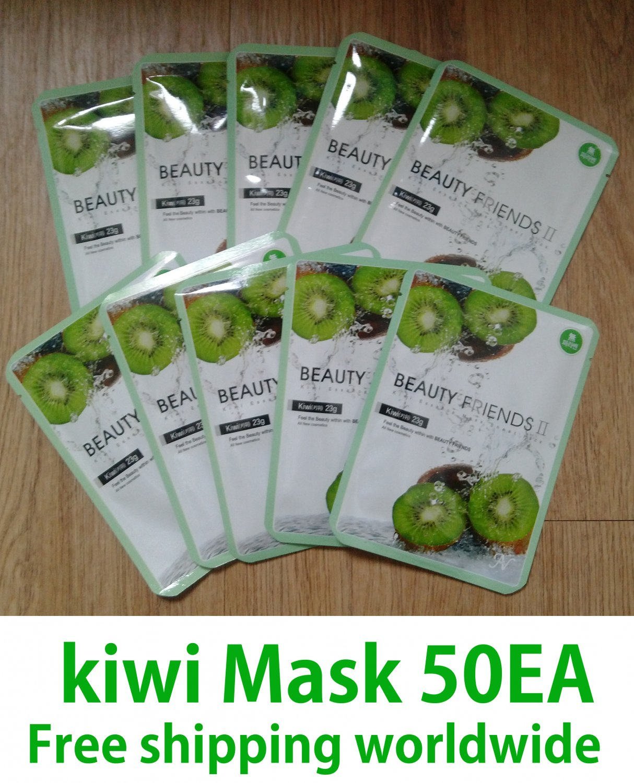 kiwi fruit mask sheet pack 10EAX5=50EA (Free shipping worldwide)