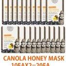 Canola honey  mask  Mask sheet pack 10EAX2=20EA (Free shipping worldwide)