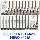 Green tea mask  Mask sheet pack 10EAX4=40EA (Free shipping worldwide)