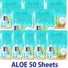 Aloe Ultra hydrating essence mask pack 50 sheets