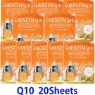 Q10 Ultra hydrating essence mask pack 20 sheets