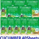 Cucumber Ultra hydrating essence mask pack 40 sheets