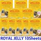 Royal jelly Ultra hydrating essence mask pack 10 sheets