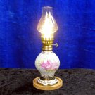 Porcelain Oil Lamp Style LED Table Lamp or Bedside Light with Shade