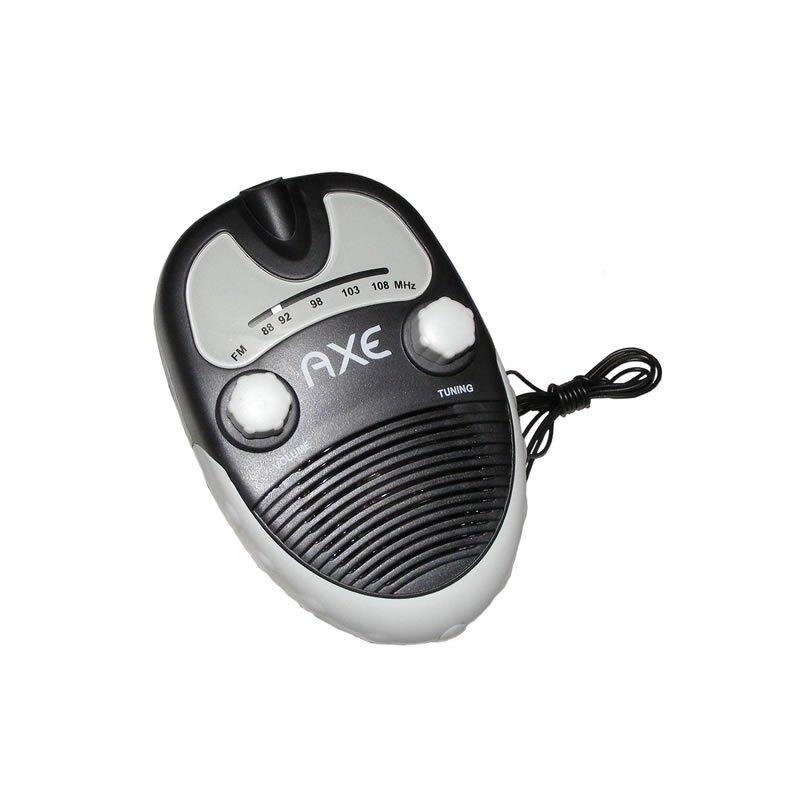 Compact FM Water Resistant Portable Bathroom Shower Radio