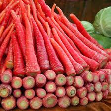 HEIRLOOM NON GMO Atomic Red Carrot 50 seeds