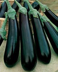 HEIRLOOM NON GMO Ukrainian Beauty Eggplant 25 seeds