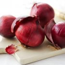 HEIRLOOM NON GMO Southport Red Globe Onion 50 seeds