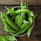 HEIRLOOM NON GMO Corne De Belier Snow Pea 25 seeds