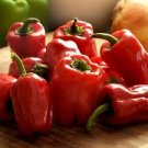 HEIRLOOM NON GMO Ozark Giant Red Bell Pepper 25 seeds