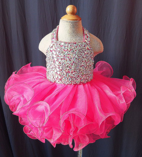 Lafinefashion wedding party gown flowers girl dress for 3-14Y N1508021504