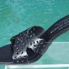 Donald Pliner $235 COUTURE NAPPA  LEATHER Shoe NIB 9.5 10 CRISS CROSS SLIDE
