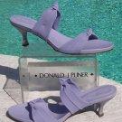 Donald Pliner $210 COUTURE LEATHER SANDAL Shoe NIB 11 DOUBLE MESH ELASTIC