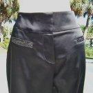 Cache $138 SATIN FLAIR LEG Pant NWT 6/8/10/12/14 S/M/L/XL SEQUIN POCKET STRETCH